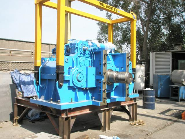 New gearboxes for Trailing suction hopper dredger