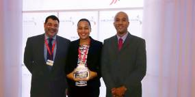 Stork receives safety award from the American Chamber of Commerce of Trinidad and Tobago