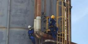 Rope access inspection - Ecopetrol