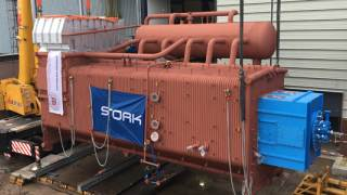 Pyrolysis-oil Fired Steam Boiler