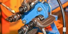 Gulf of Mexico Operator - Hot Bolt Clamp