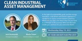 Webinar: Clean Industrial Asset Management