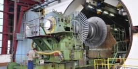 Siemens Steam Turbine overhaul