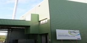 NOx reduction at biomass energy plant