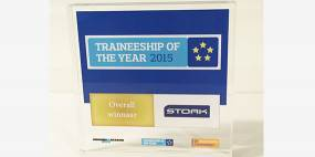 Stork wins Traineeship of the Year election
