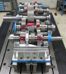 custom built gearbox for dredger