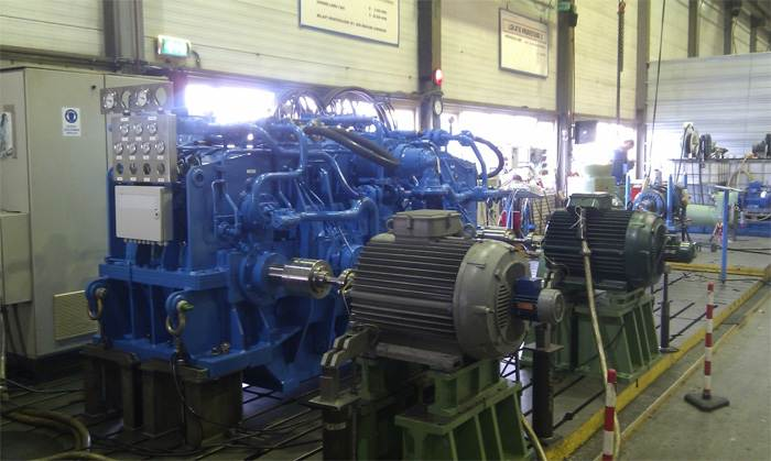testrun custom made dredger gearbox