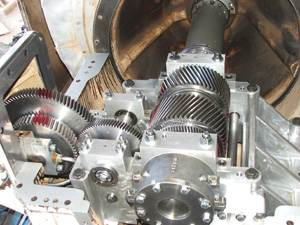 Gearbox inspection and test-run for Kuwait oil company