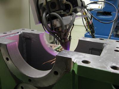 laser cladding, application wear resistant coating