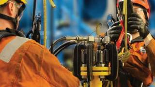 Hot Bolt Clamp & Rope Access - North Sea