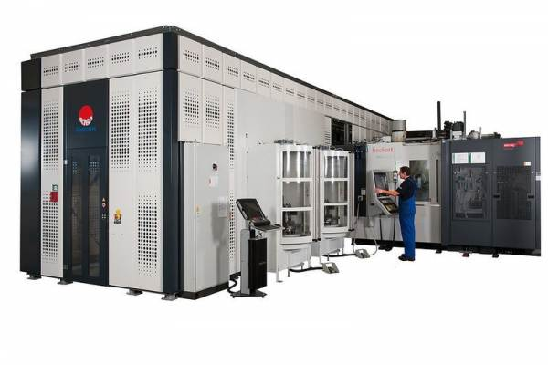 Fastems Flexible Manufacturing System by Starrag Heckert