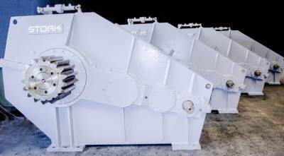 Stork Gearbox production for Crane Vessel