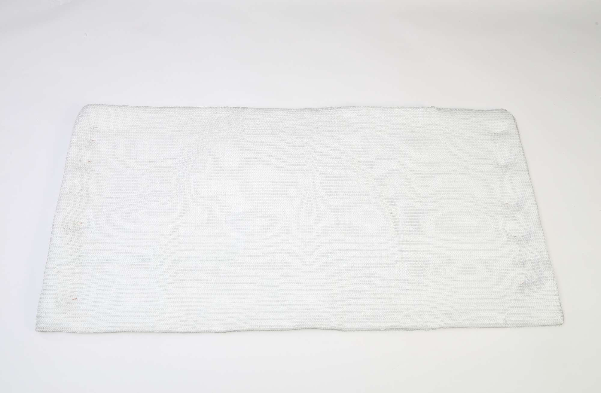 Image of Ceramic fibre insulation blanket 96kg/m³ in stainless steel mesh 25x600x1200mm