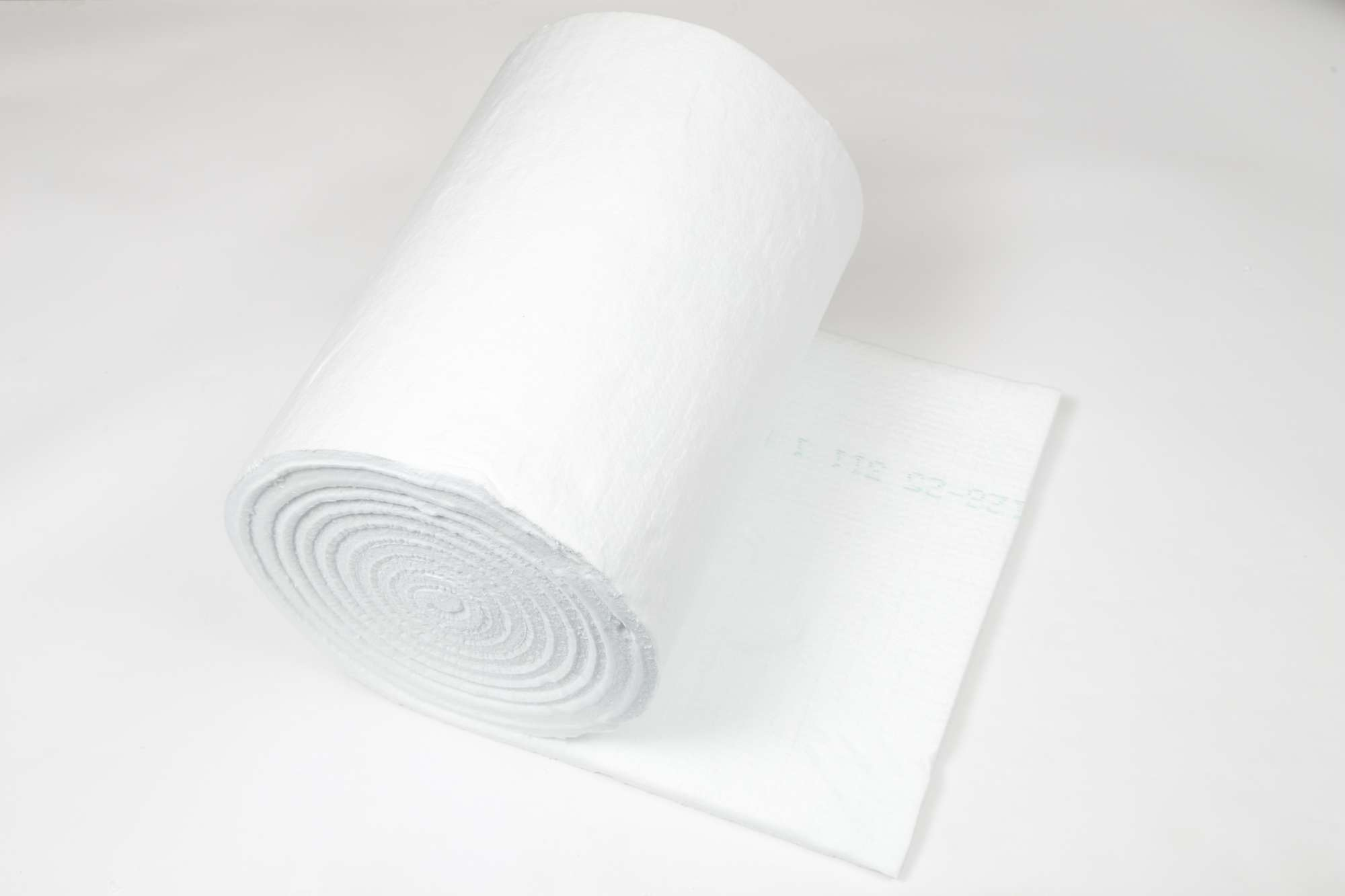 Image of 10m roll of 19mm thick, 600mm wide ceramic fibre blanket, 96kg/m³