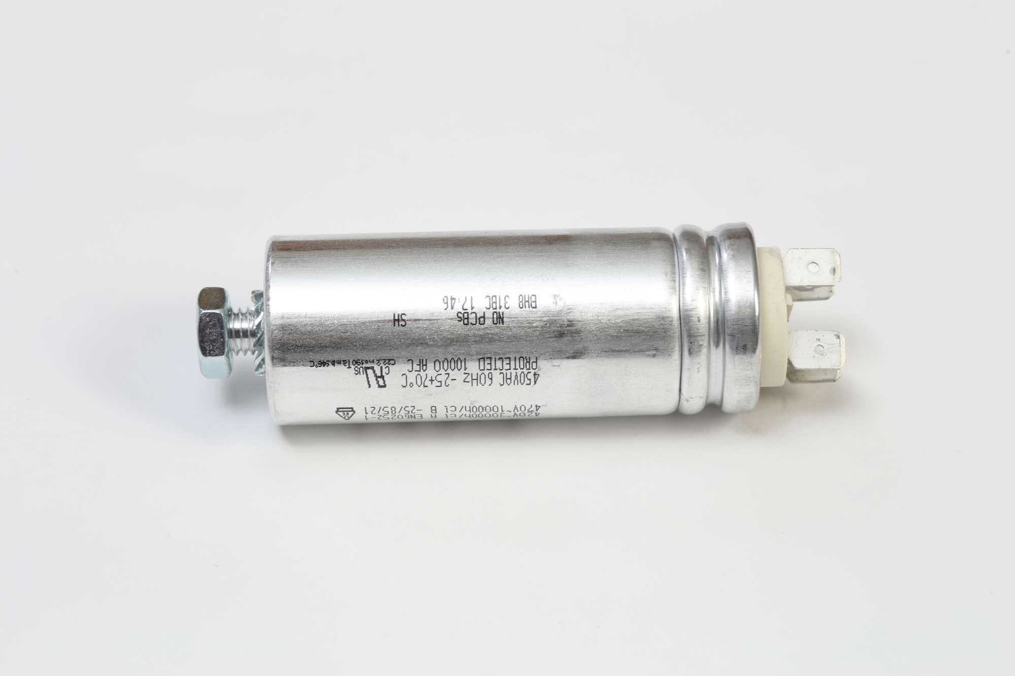 Image of 8µF, 600V, B215 capacitor for shunt trip