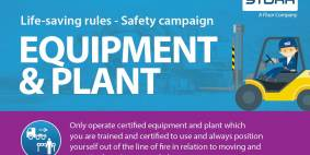 Equipment & Plant: Life-saving rules safety campaign