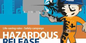 Hazardous release - life-saving rules safety campaign