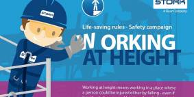 Working at height: life-saving rules safety campaign