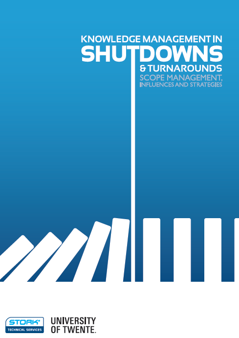 Cover eBook Knowledge Management in Shutdowns & Turnarounds