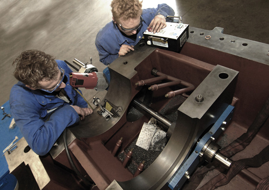 On-site Machining and Bolting Services